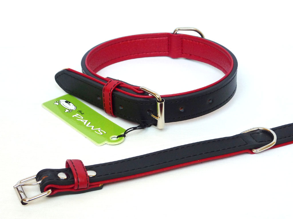 Fusion Leather Collar Lead - Black