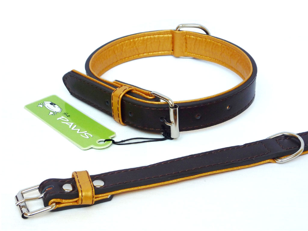 Fusion Leather Collar Lead - Brown