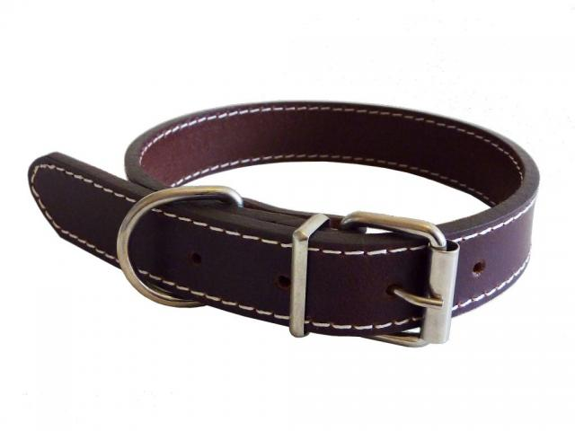 Traditional Leather Collar