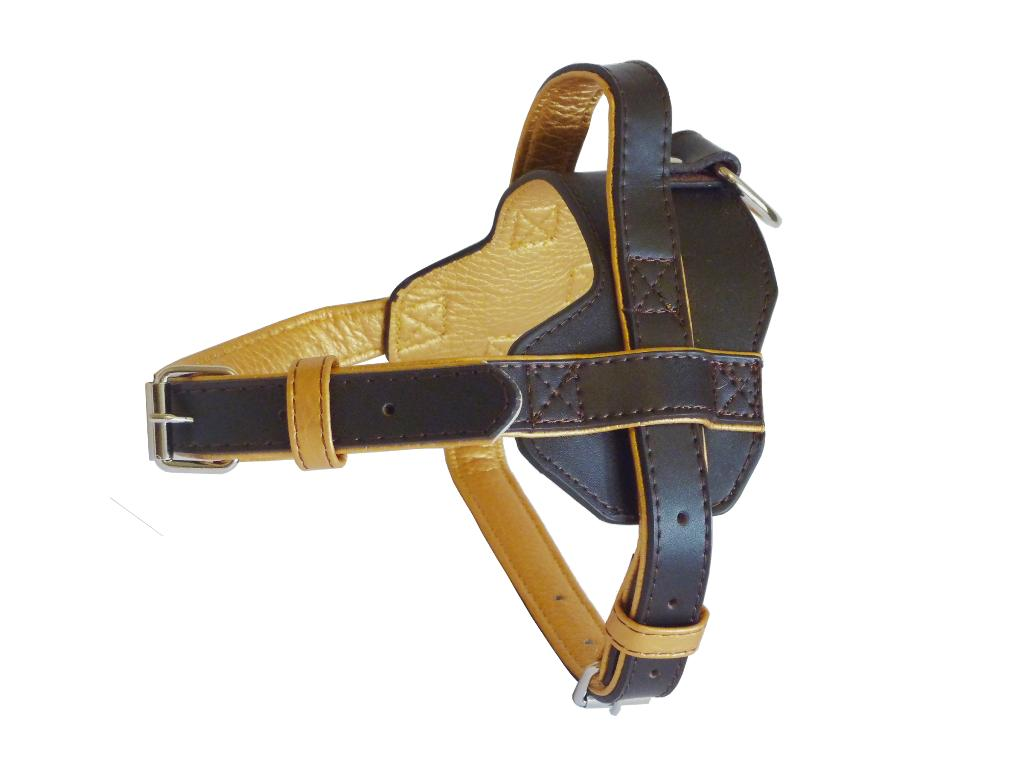Fusion Leather Harness - Brown